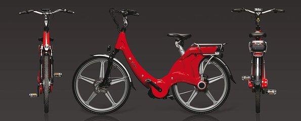 Carter E-volution Bike Red