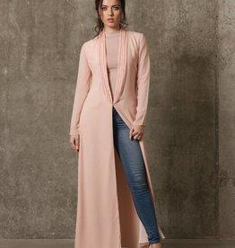 Embellished Kimono 'Mel' Rose