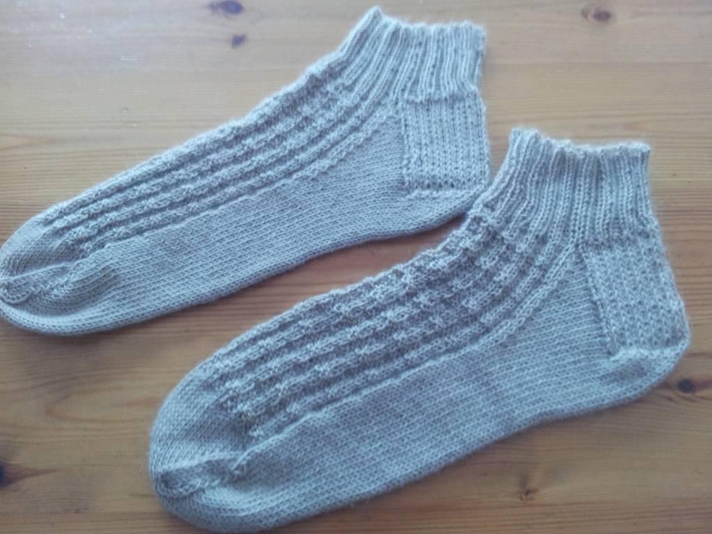 Bianca Boonstra Designs De sokken van Auke
