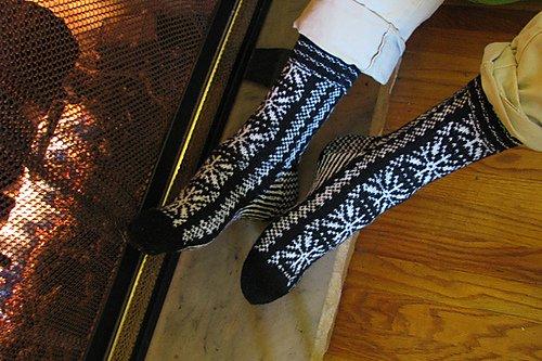 Bianca Boonstra Designs Selbu style sokken