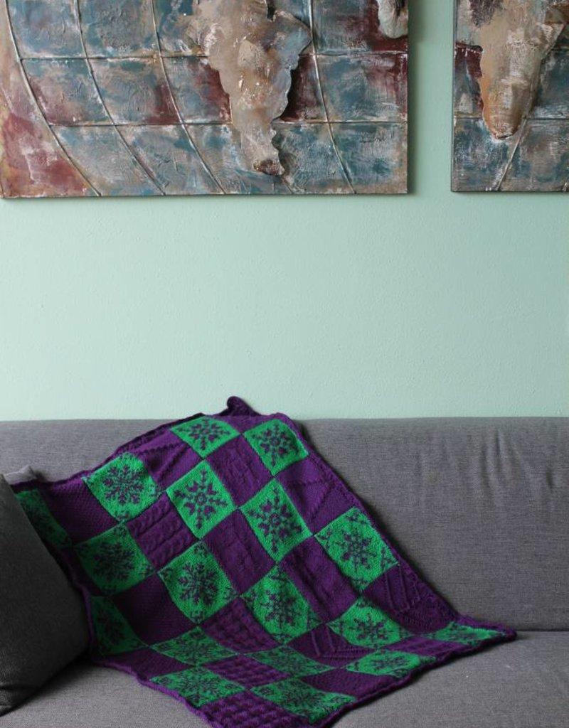 Bianca Boonstra Designs Breien - Chefwol's Kerstplaid