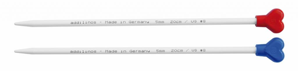 Addi 20 cm. Addi Linos kinderbreinaalden. vanaf 3.5 tot 5.5 mm.