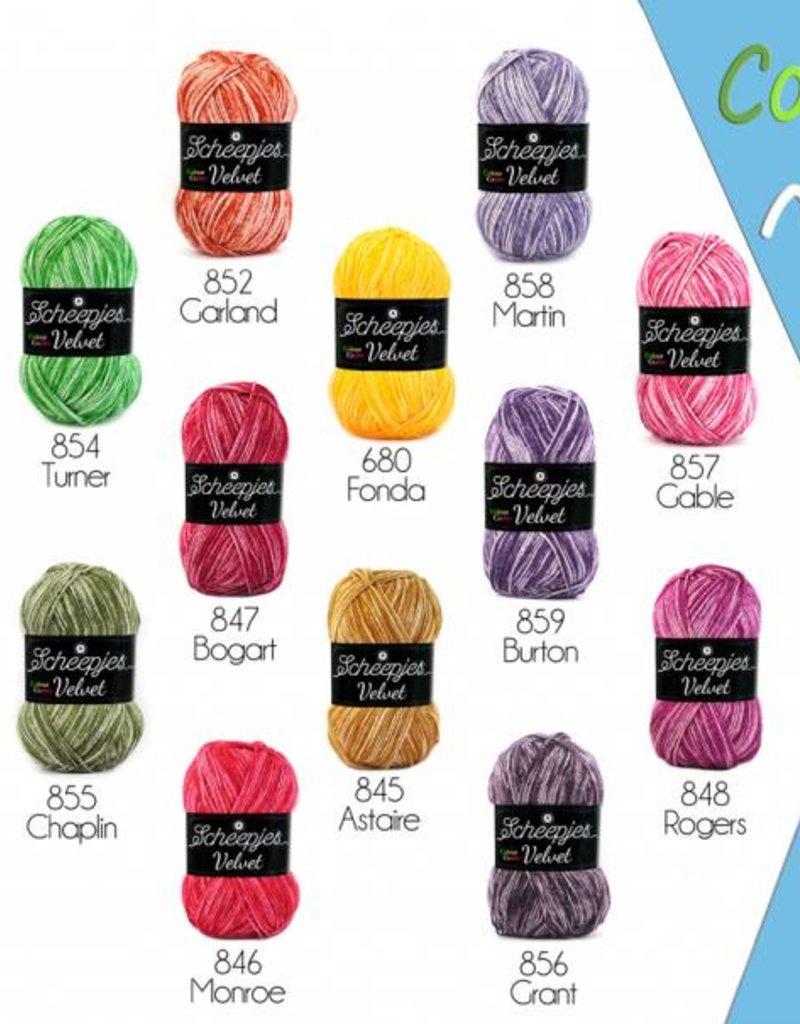 Scheepjeswol Colour Crafter Velvet -  Alles draait om kleur, of u nu breit, of haakt