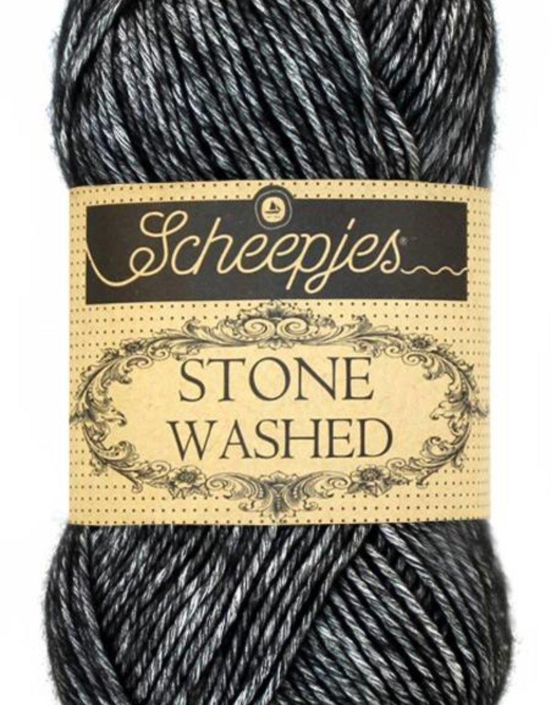 Scheepjeswol Scheepjes Stonewashed 803 Black Onyx
