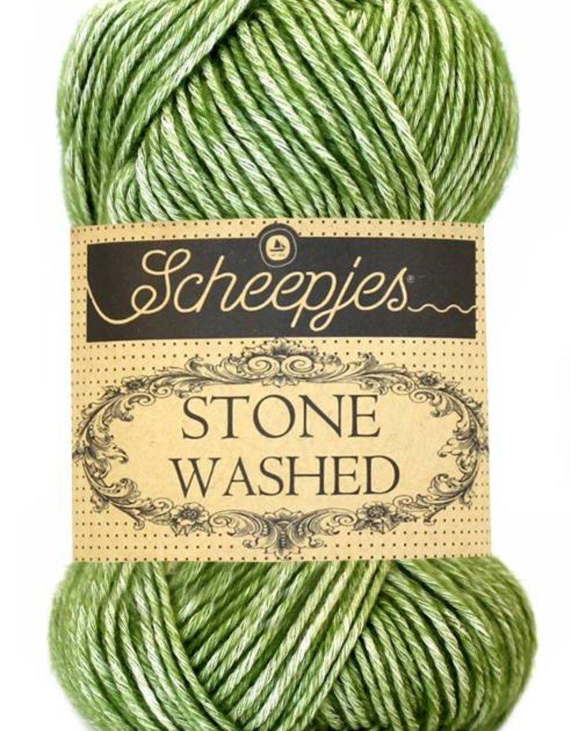 Scheepjeswol Scheepjes Stonewashed 806 Canada Jade