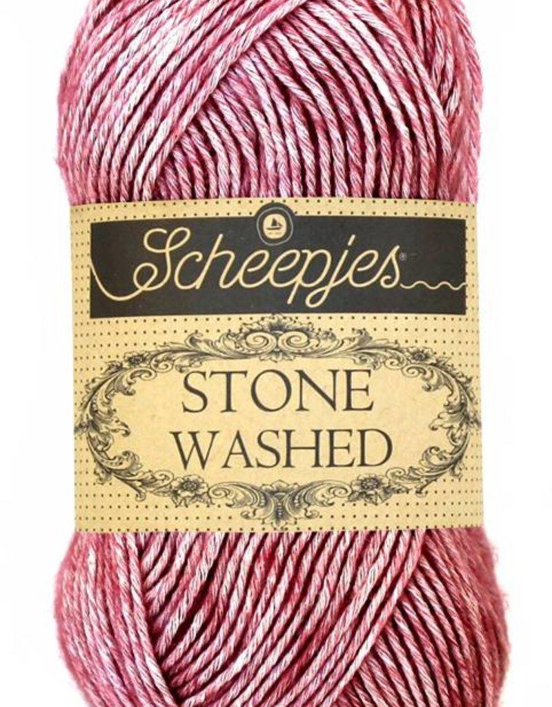 Scheepjeswol Scheepjes Stonewashed 808 Corundum Ruby