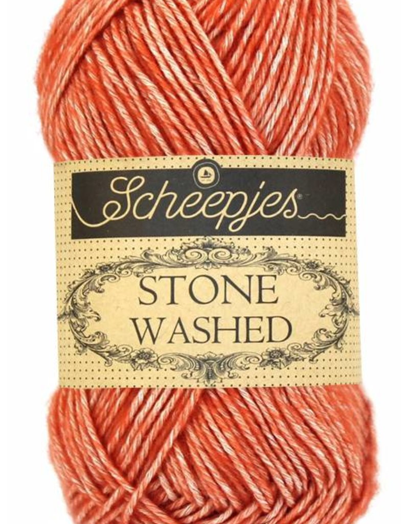 Scheepjeswol Scheepjes Stonewashed 816 Coral