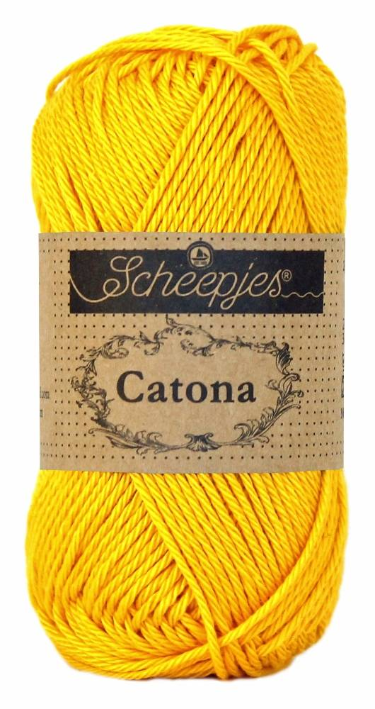 Scheepjeswol Catona 25 - 208 Yellow Gold