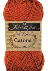 Scheepjeswol Catona 25 - 388 Rust