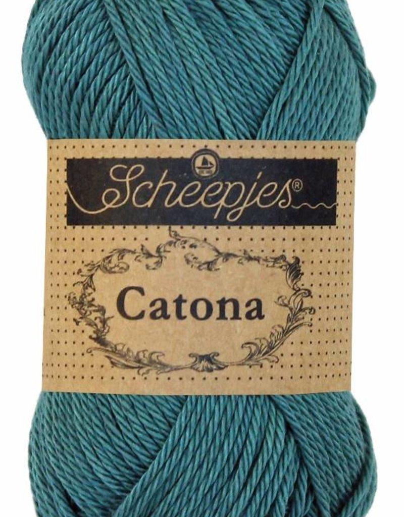 Scheepjeswol Catona 25 - 391 Deep Ocean Green