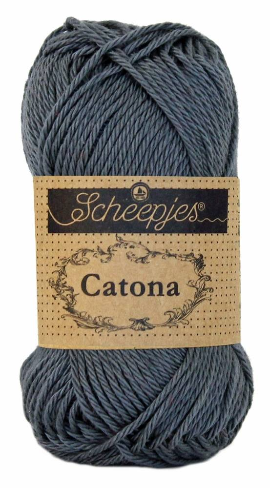 Scheepjeswol Catona 25 - 393 Charcoal