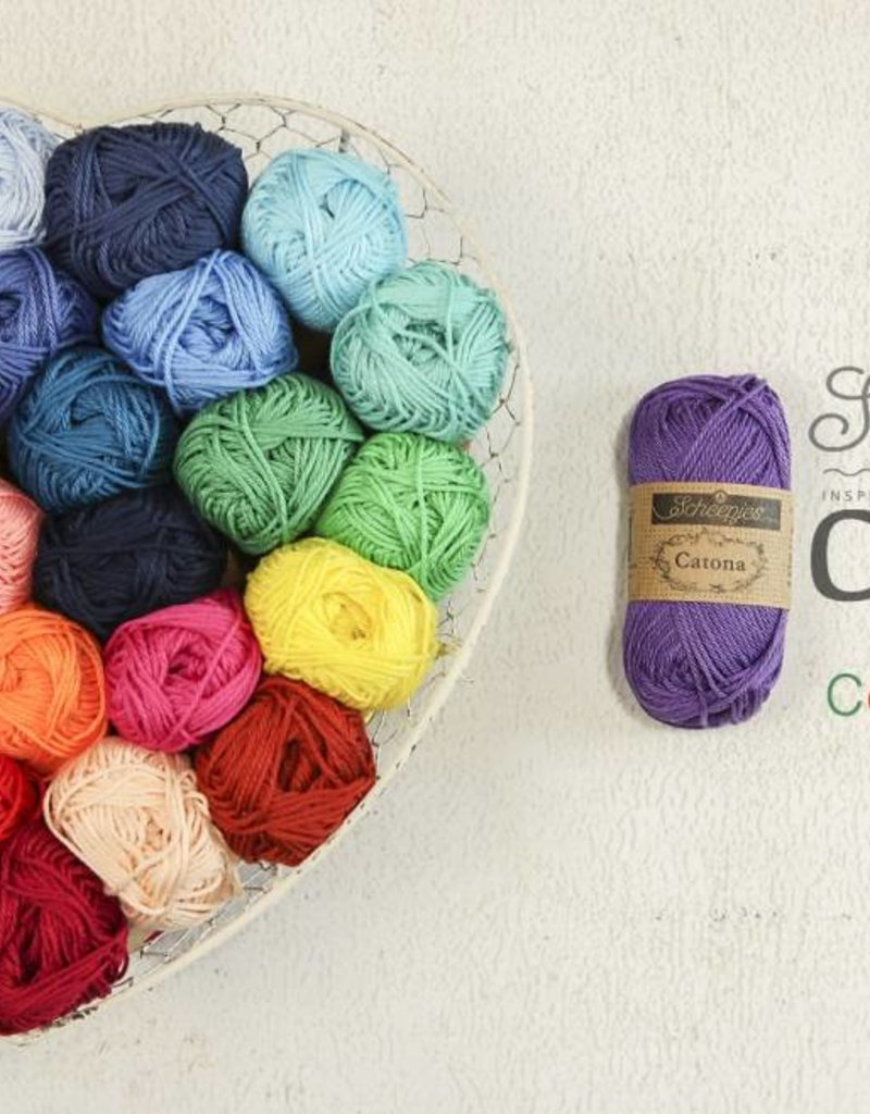 Scheepjeswol Catona 50- 516 Candy Apple