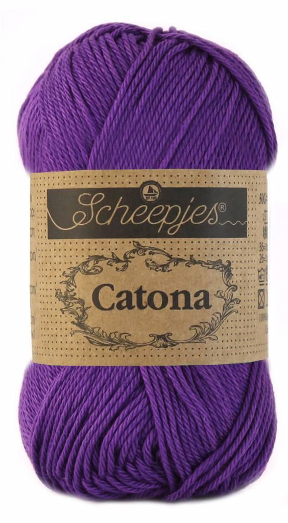 Scheepjeswol Catona 25 - 521 Deep Violet