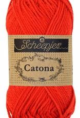 Scheepjeswol Catona 50 - 115 Hot Red