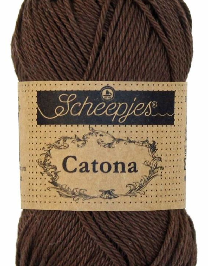 Scheepjeswol Catona 50 - 162 Black Coffee