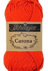 Scheepjeswol Catona 50 - 390 Poppy Rose