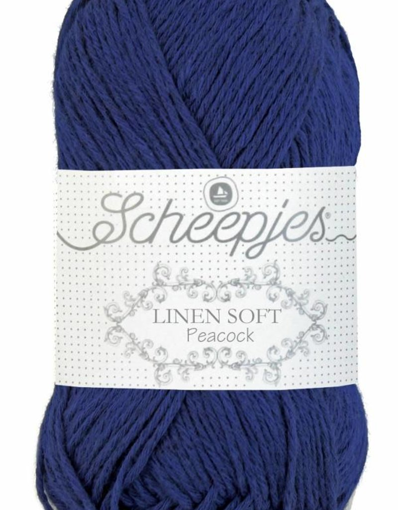 Scheepjeswol Linen Soft 611 - Peacock