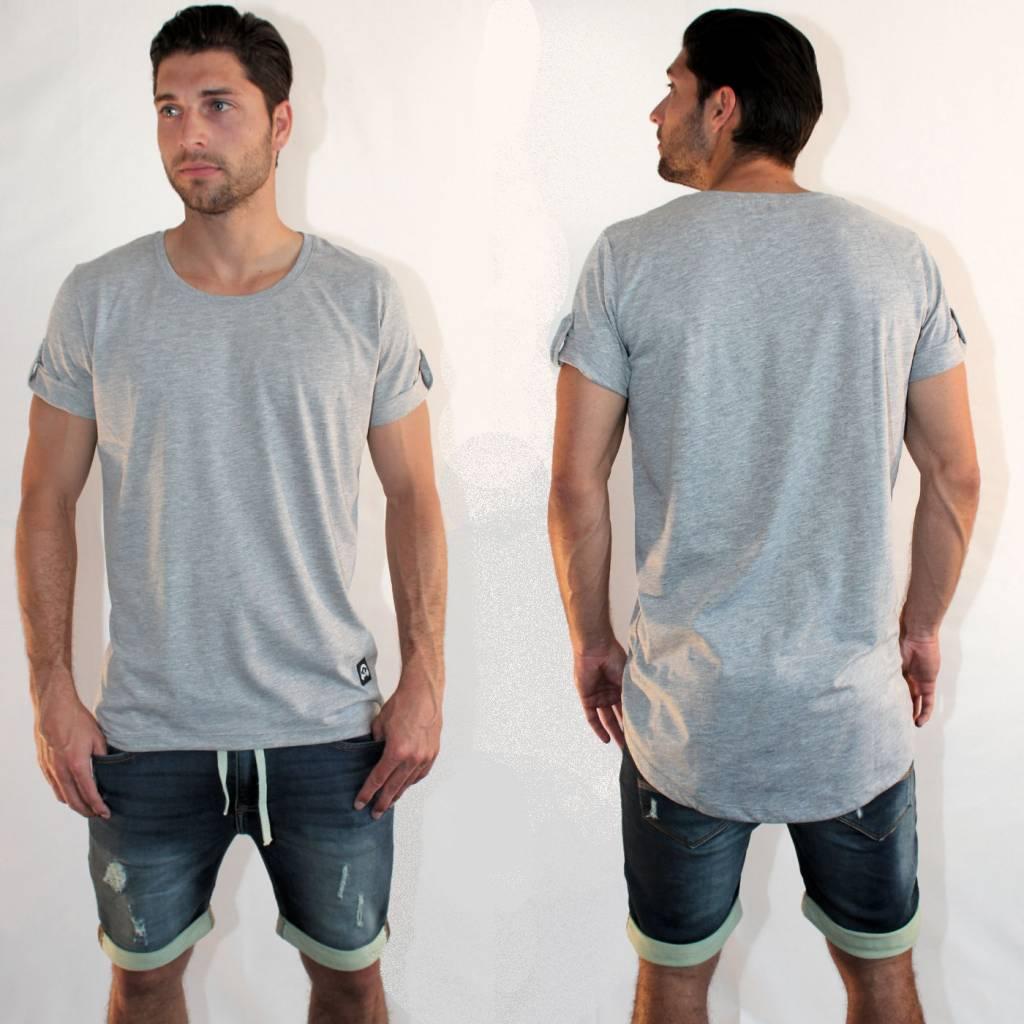 T shirt lange achterkant