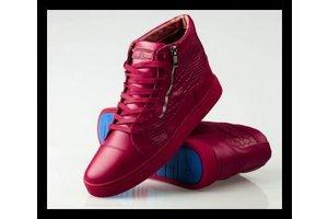 Sixth June Prachtige rode leren sneakers, devil red
