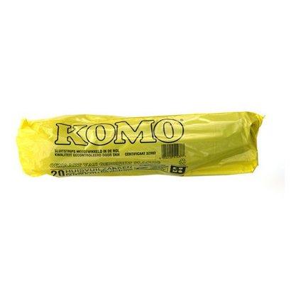 Eigen merk Huisvuilzakken Kivo Komo 60x80cm, T50