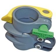 Unger nLite 35mm klem compleet, geel