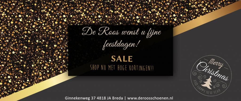 De Roos Schoenen wenst..