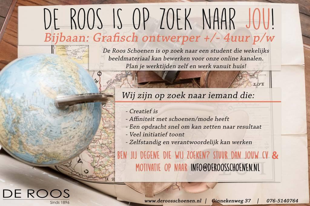 De Roos Schoenen is op zoek naar...