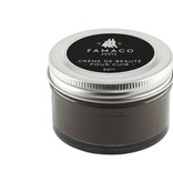 Famaco donkerbruine schoencrème