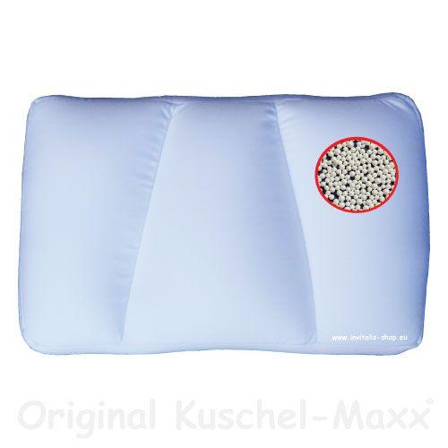Kuschel-Maxx - Schlafkissen Weiss