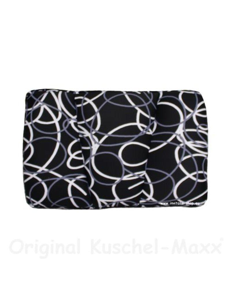 Kuschel-Maxx - Sleeppillow  Lines Black