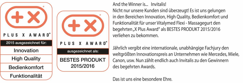 X-Plus Award