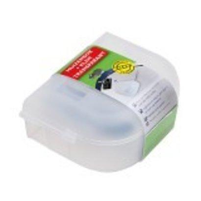 Luxan Muizenbox + Klem Transparant, tegen muizen