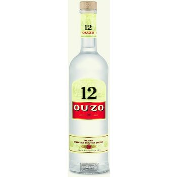 OUZO 12 0.70 ltr 38%