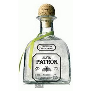 PATRON SILVER 100% AGAVE 0.70 ltr 40%