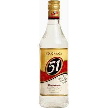 CACHACA 51 PIRASSUNUNGA 0.70 Ltr 40%