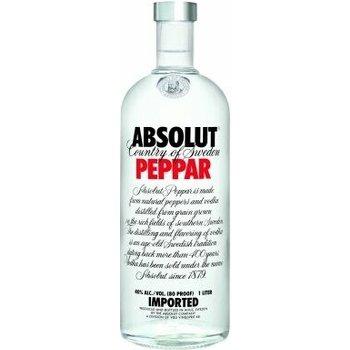 ABSOLUT PEPPAR 1 Ltr 40%