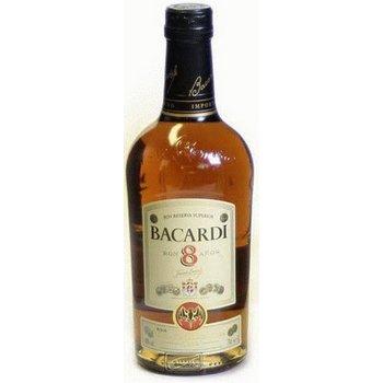 BACARDI RON 8 YEARS 1 ltr 40%