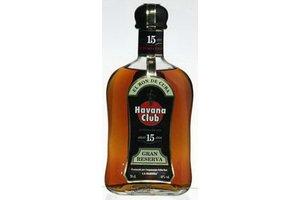 HAVANA CLUB 15 YEARS GRAN RESERVA 0.70 Ltr 40%