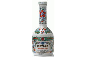 METAXA GRAND FINE CERAMIC 0.70 Ltr 40% Griekenland