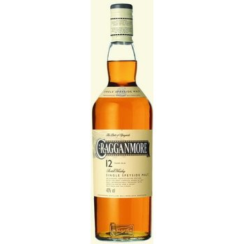 CRAGGANMORE 12 YEARS 0.70 ltr 40%
