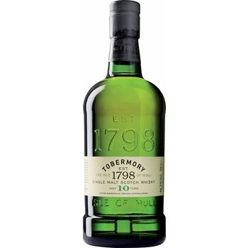 TOBERMORY 10 YEARS 0.70 ltr 46.3%