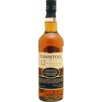 TOMINTOUL 12 YEARS OLOROSO 0.70 ltr 40%