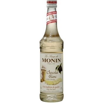 MONIN WHITE CHOCOLAT 0.70 ltr 0%