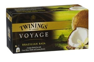 TWININGS VOYAGE BAIA COCOS THEE 0 0%