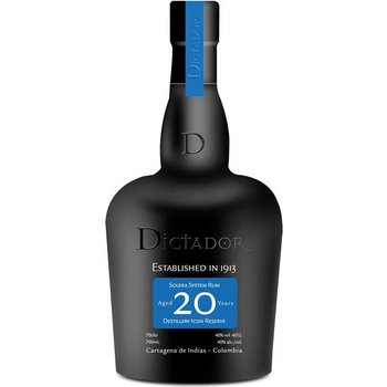 DICTADOR 20 YEARS 0.70 Ltr 40% Colombia