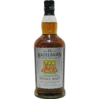 HAZELBURN 12 YEARS 0.70 Ltr 46%