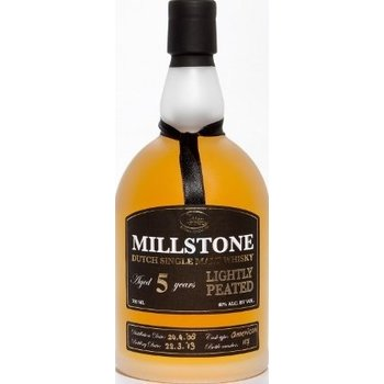 MILLSTONE 5 YEARS LIGHTLY PEATED 0.70 Ltr 40%