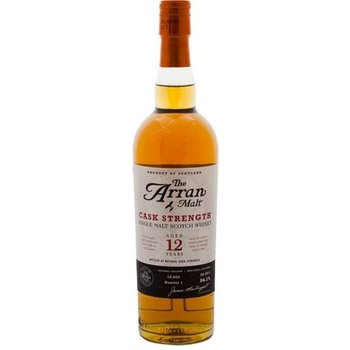 ARRAN 12 YEARS CASK STRENGHT 0.70 Ltr 53.2%