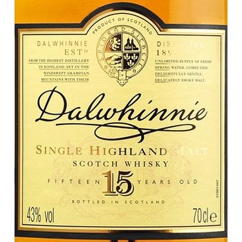 DALWHINNIE 15YEARS 0.20 Ltr 43%