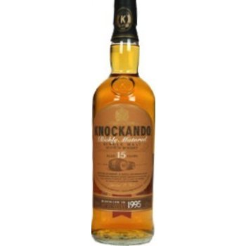 KNOCKANDO 15 YEARS RICHLY MATURED 0.70 Ltr 43%